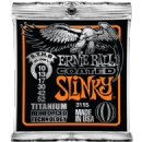 Ernie Ball Titanium Coated Skinny Top Heavy Bottom Electric Guitar Strings 010-052